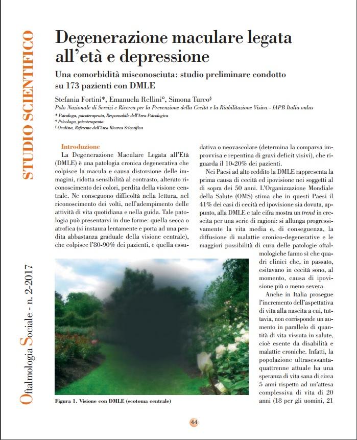 Depressione maculare legata all'età e depressione