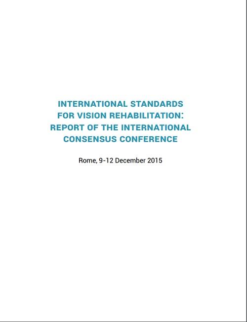 Standard internazionali in riabilitazione visiva